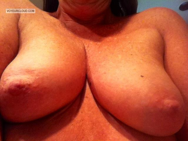 Tit Flash: My Small Tits By IPhone (Selfie) - Texwife from United States