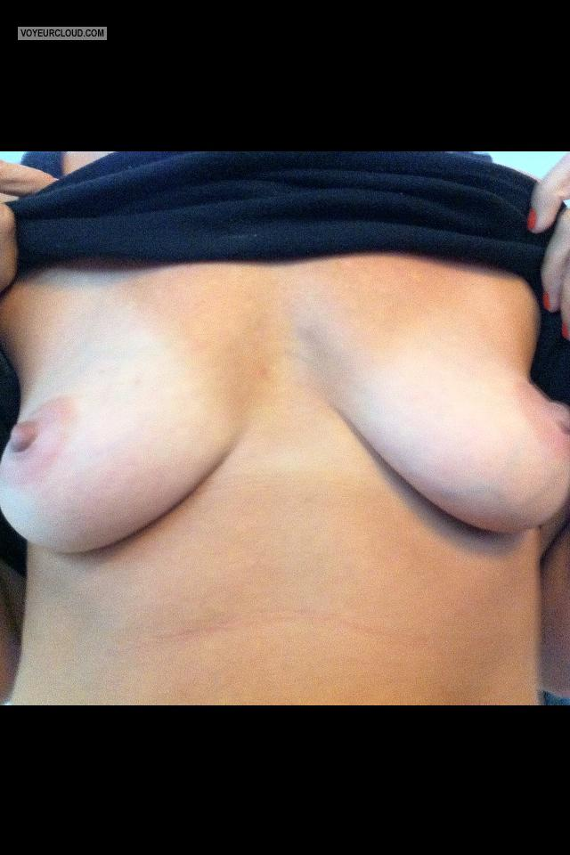 My Small Tits Selfie by Momma