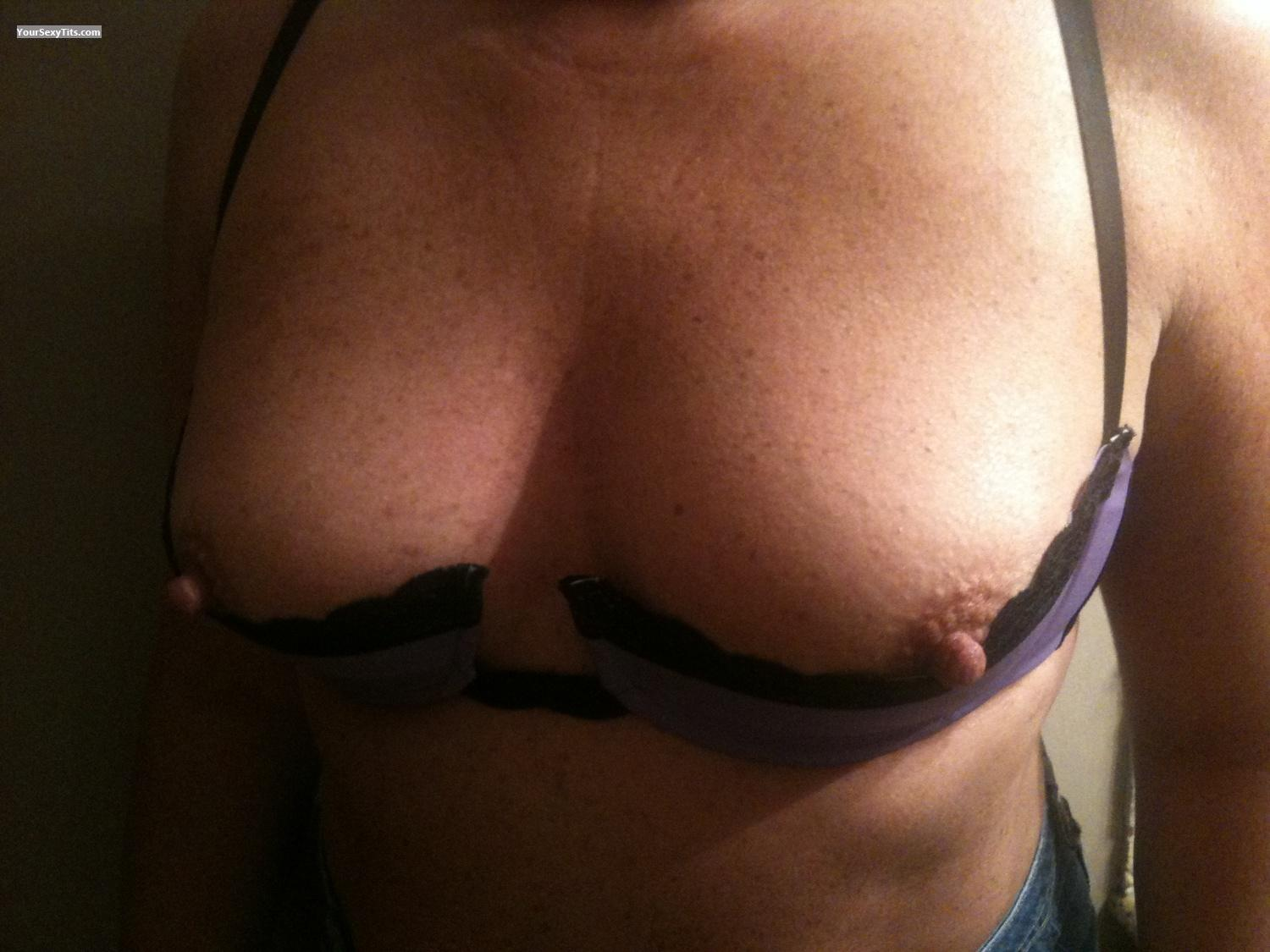Tit Flash: Small Tits By IPhone - Nips44 from United States