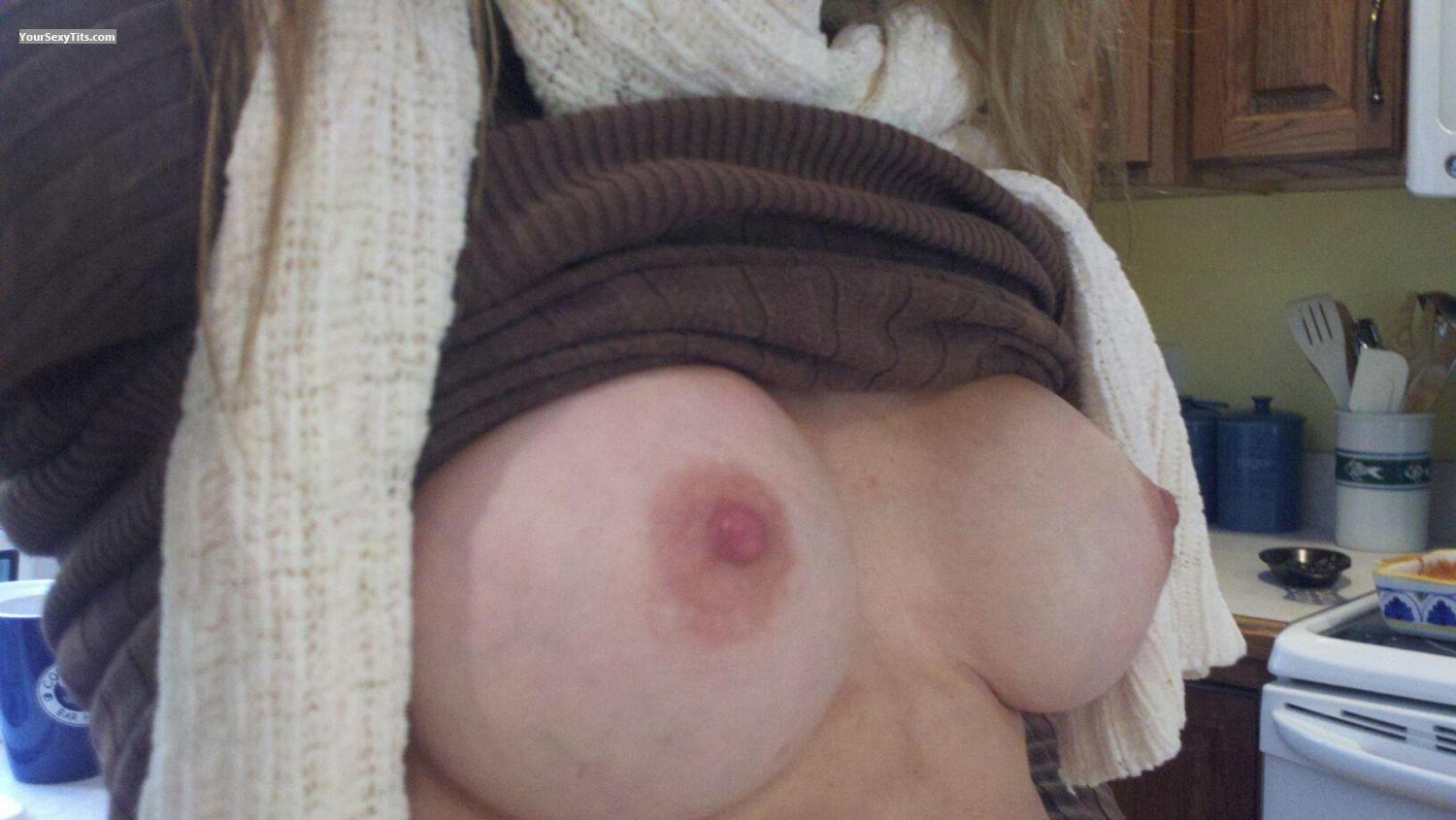 My Medium Tits Selfie by Wifey