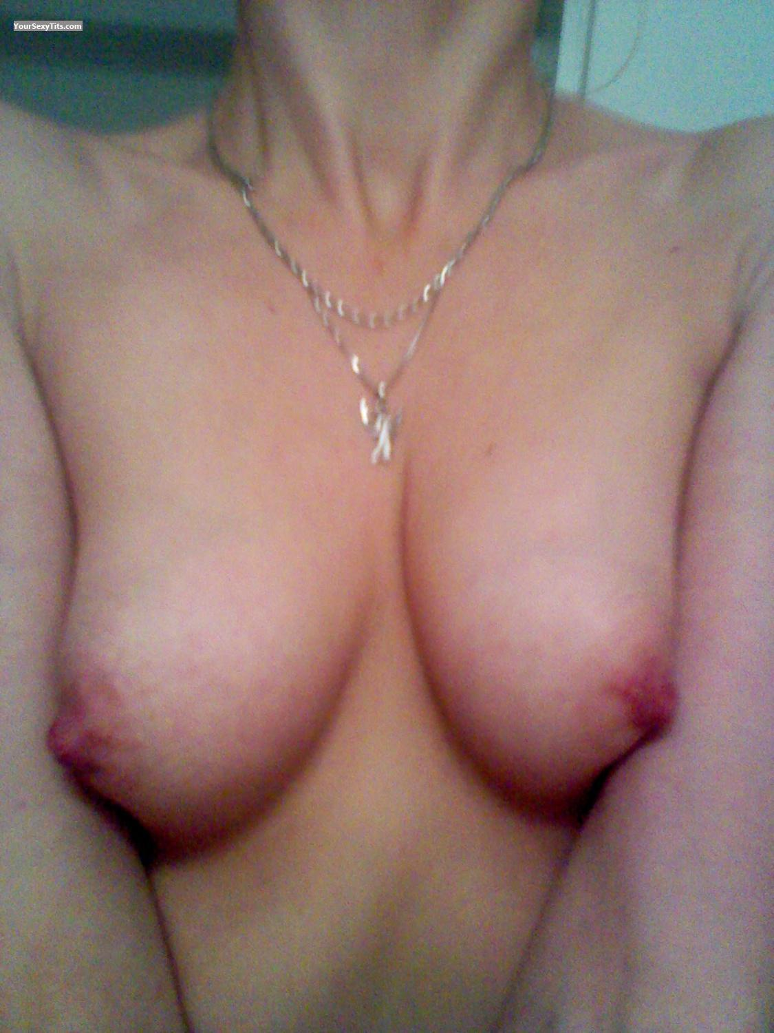 Tit Flash: My Small Tits By IPhone (Selfie) - Me from United States