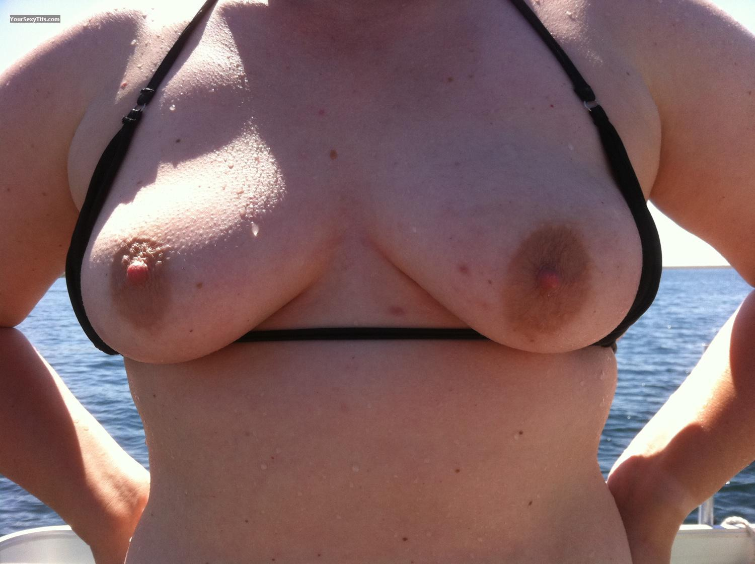 Tit Flash: Small Tits By IPhone - 14766 from United States