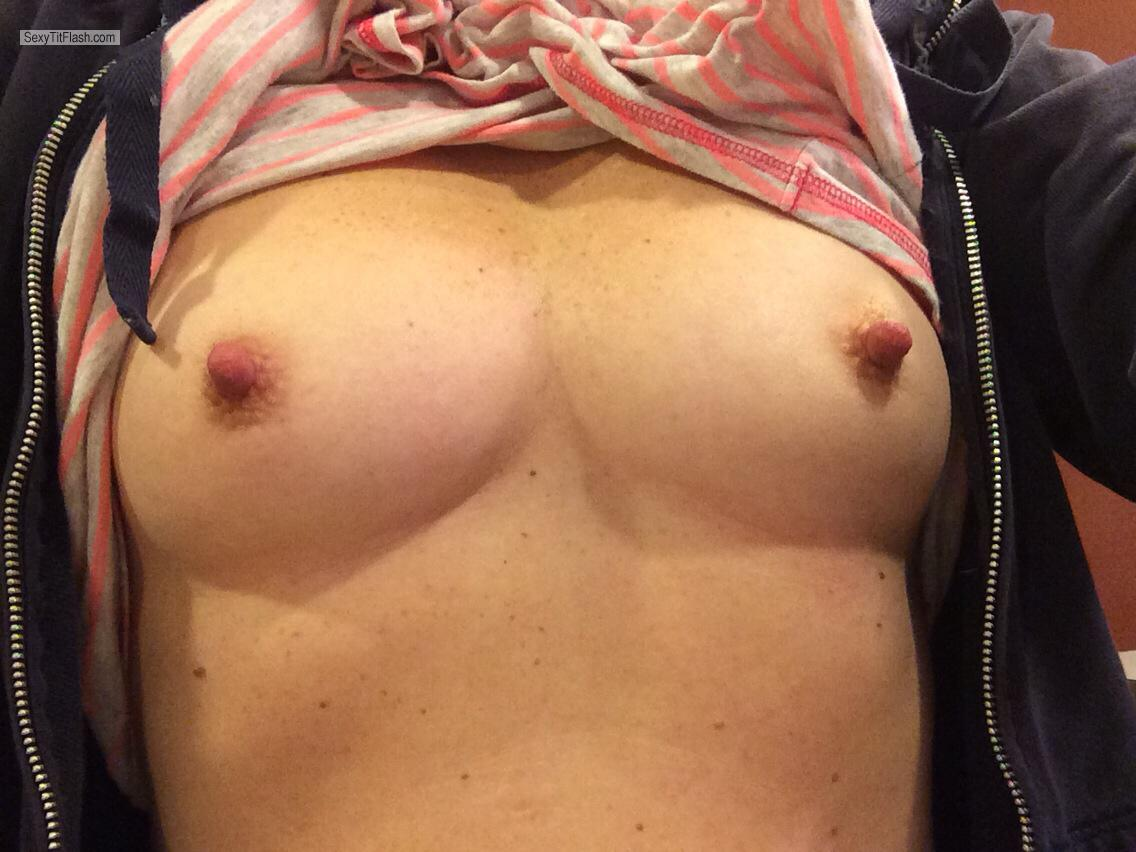 My Small Tits Selfie by Nips