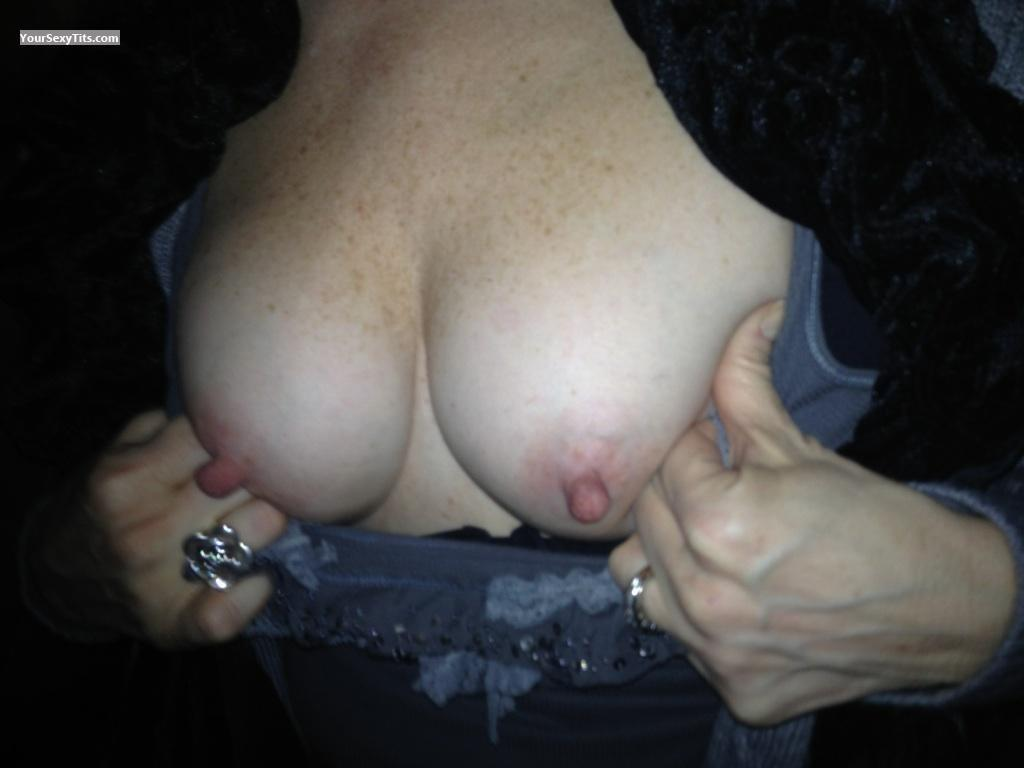 Tit Flash: Small Tits By IPhone - AnnnieM from United States