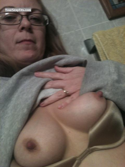 My Small Tits Topless Selfie by Boo77