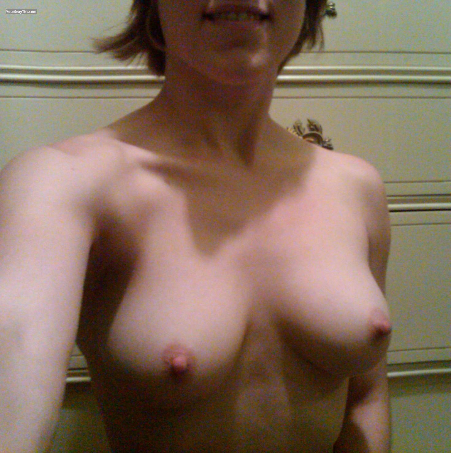 Tit Flash: My Small Tits (Selfie) - Barbie137 from United States