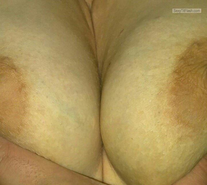 Small Tits Of My Girlfriend Selfie by Areola Hot!