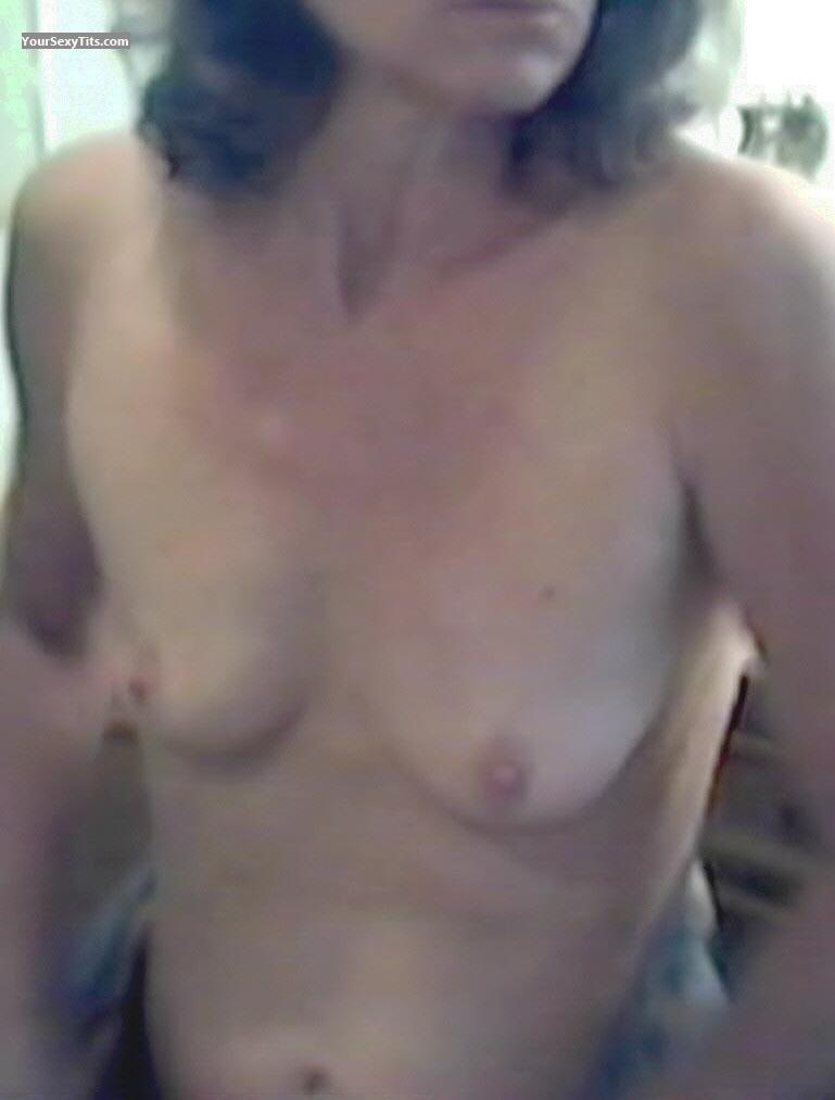 Tit Flash: Wife's Small Tits - Annie from United States