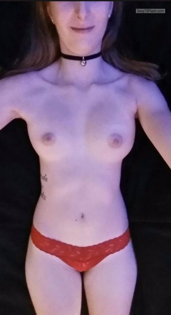My Small Tits Selfie by Terr
