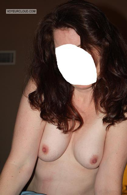 Tit Flash: Wife's Small Tits - Wild Wifey from United States