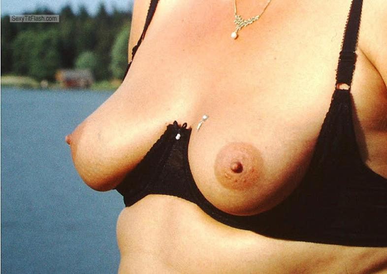 Small Tits Of My Wife Strandfee