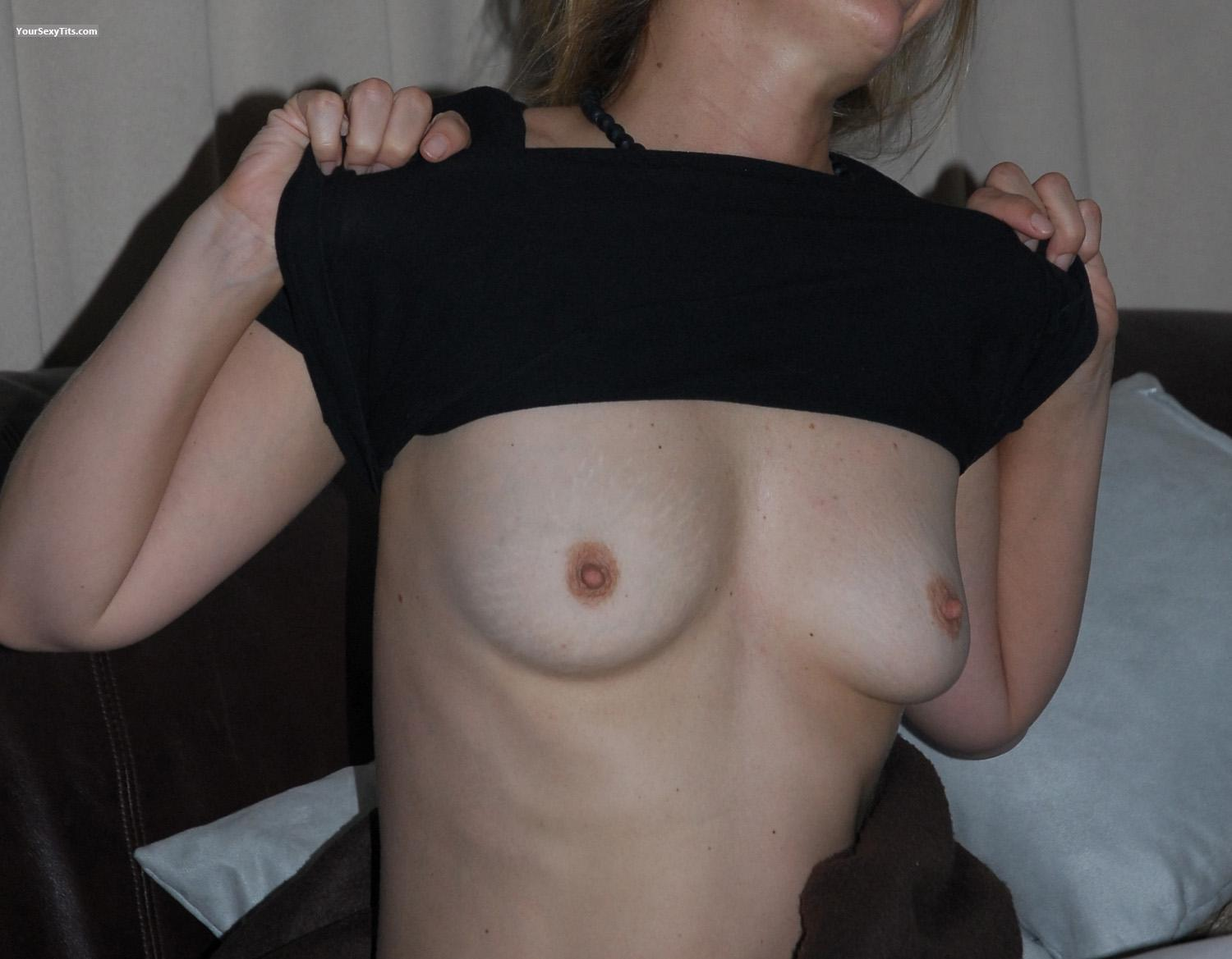 Small Tits Of My Wife JJ