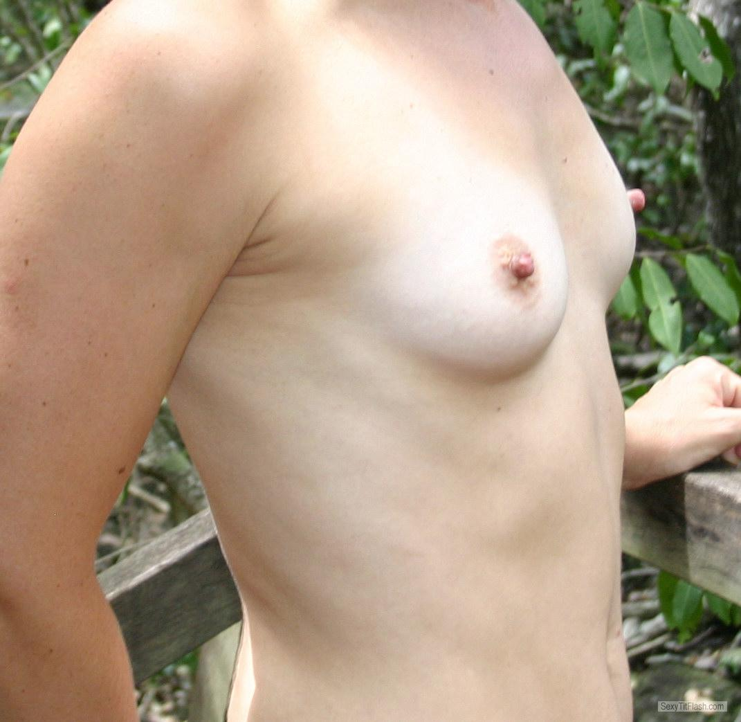 Small Tits Of My Girlfriend Teenie