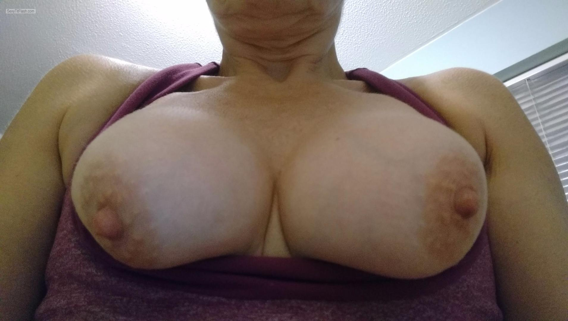 Tit Flash: My Small Tits - A Wife from United Kingdom