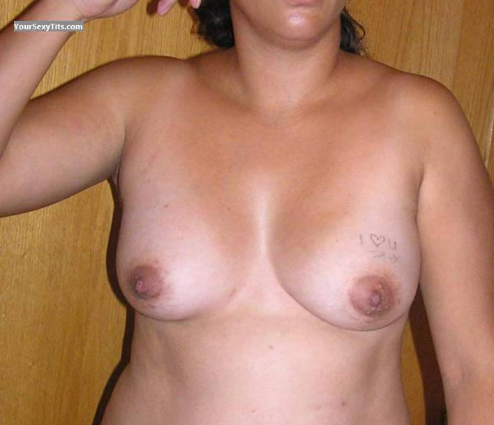 Tit Flash: Small Tits - Maria from United States