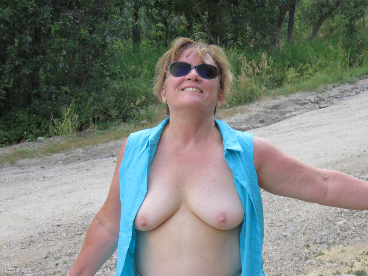 Tit Flash: My Small Tits - Karenkri from United States