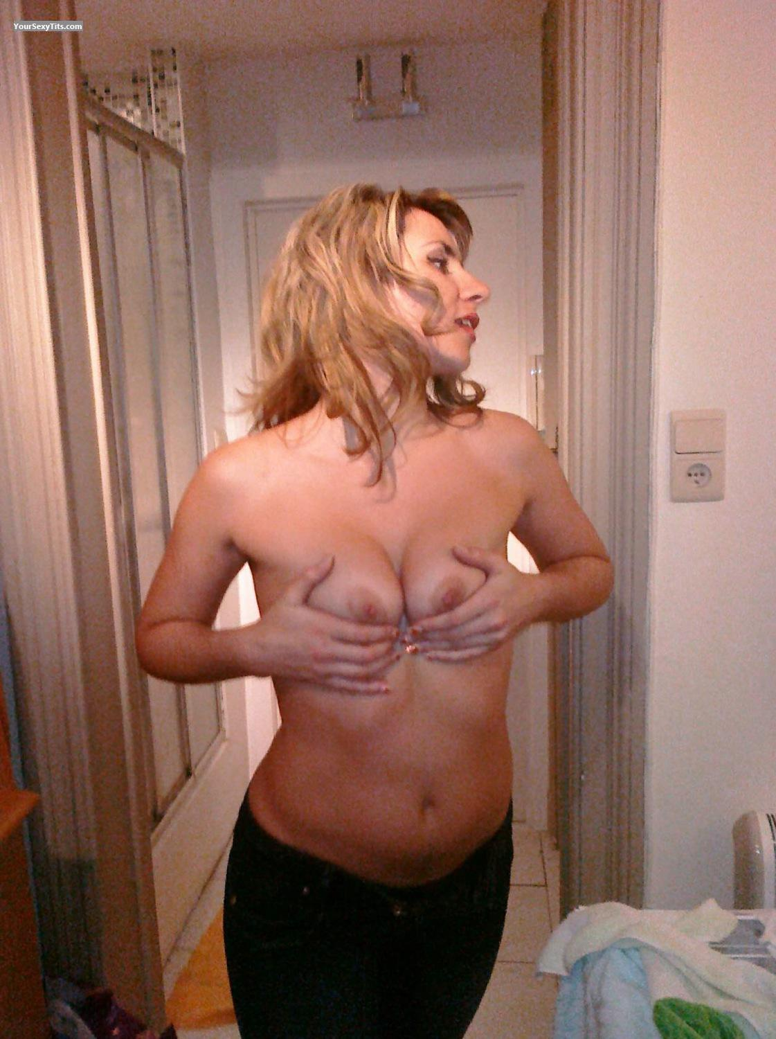 Tit Flash: My Friend's Small Tits - Topless Gala from Russian Federation