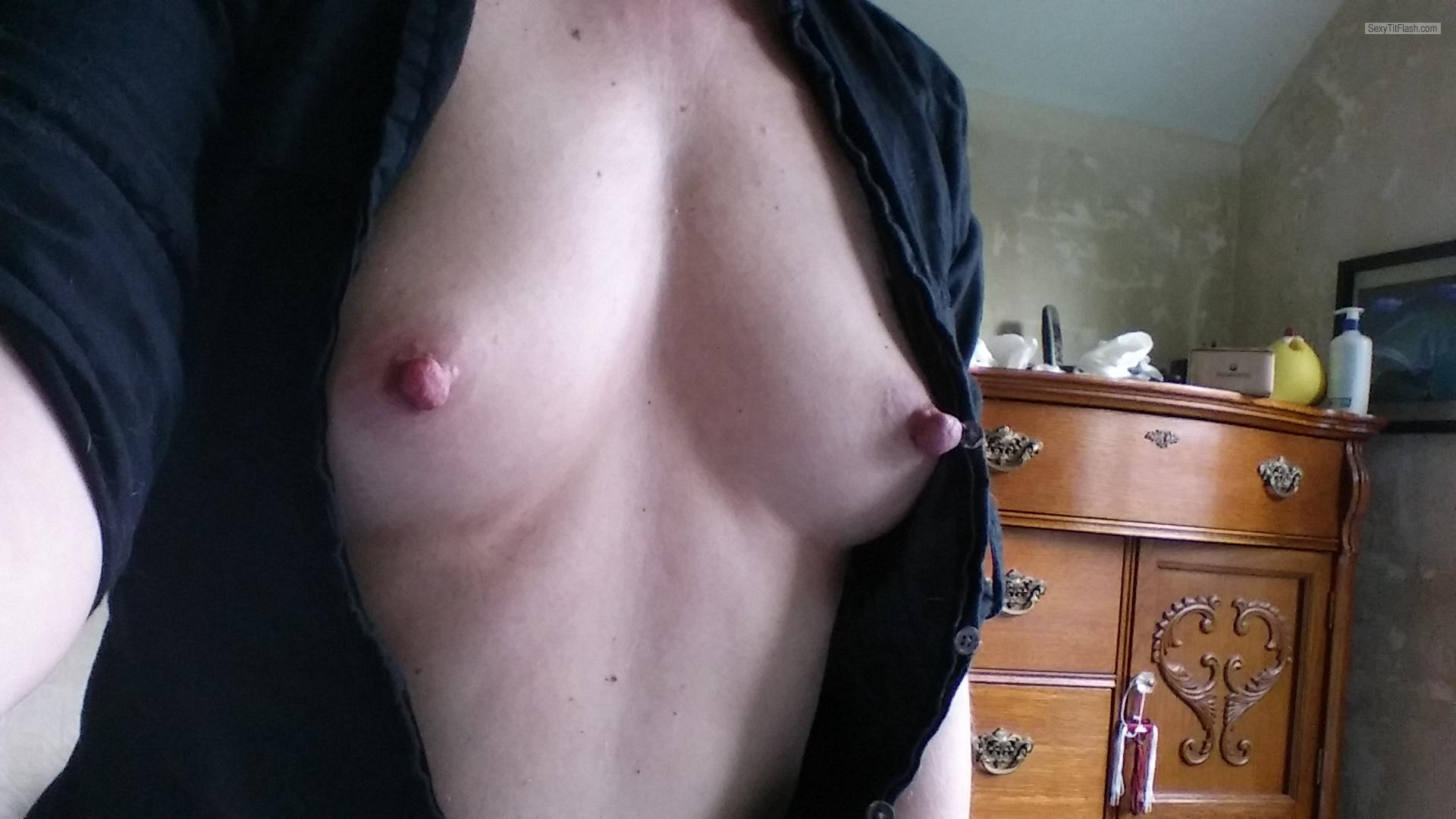 Tit Flash: My Small Tits (Selfie) - Lovelylittlepert from United States