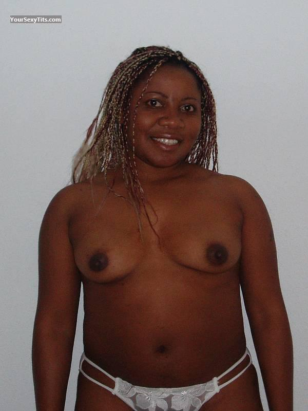 Tit Flash: Small Tits - Topless Pat from United States