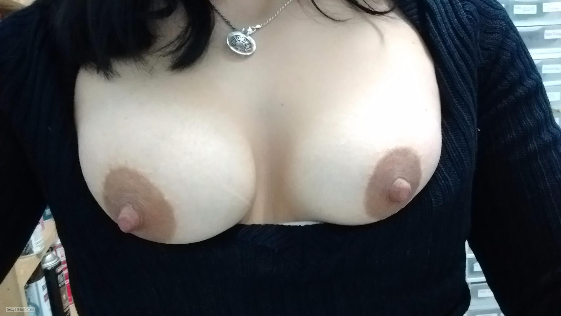 My Small Tits Selfie by Bam