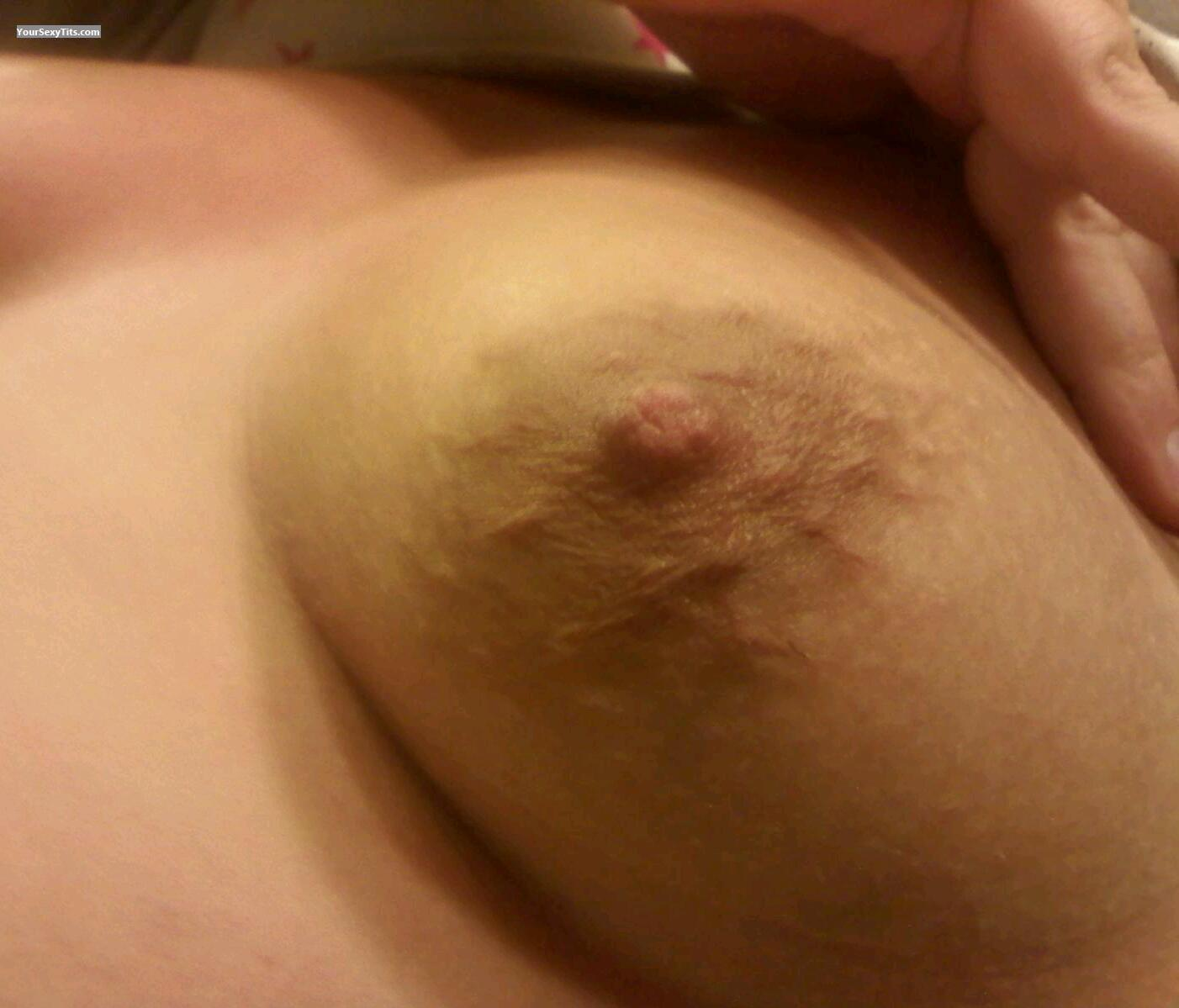 Tit Flash: My Small Tits (Selfie) - Fun from United StatesPierced Nipples