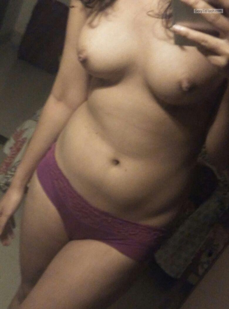 Small Tits Of My Girlfriend Selfie by Aisha's Juicy Nipples - Thin