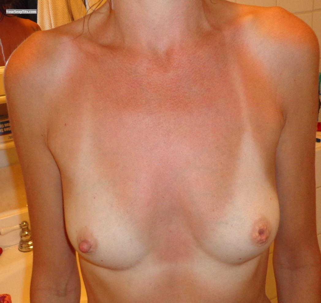 Small Tits Of My Wife Kris