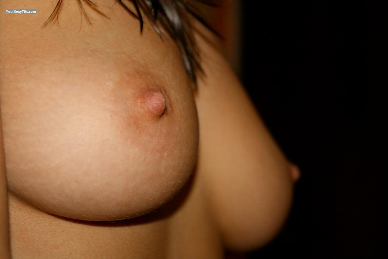 Tit Flash: My Small Tits (Selfie) - Zoe from France