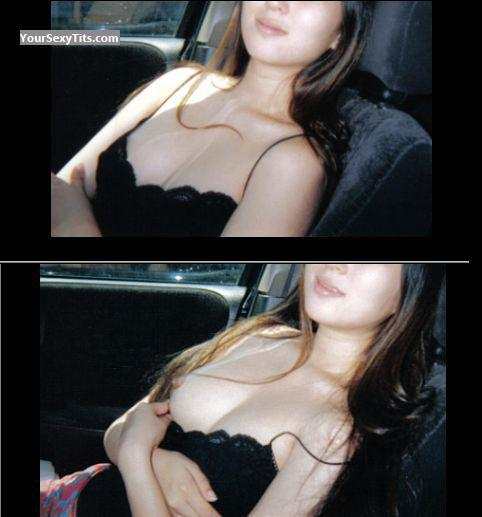 Tit Flash: Small Tits - Before And After from United States