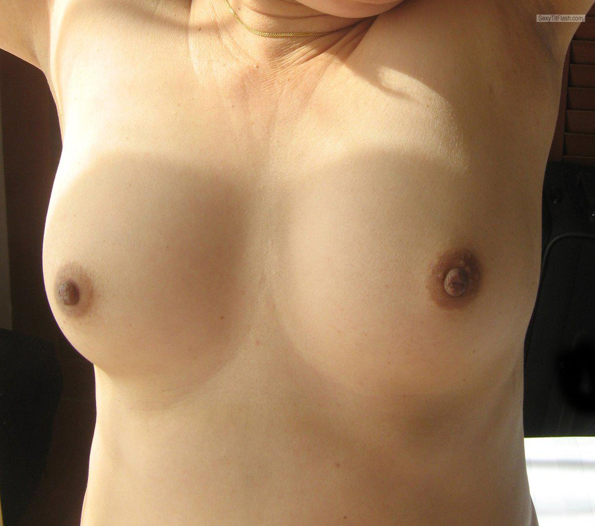 Tit Flash: My Small Tits - YY from United States