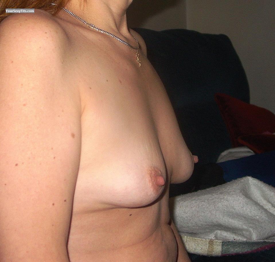Tit Flash: My Small Tits (Selfie) - Brenda K. from United States