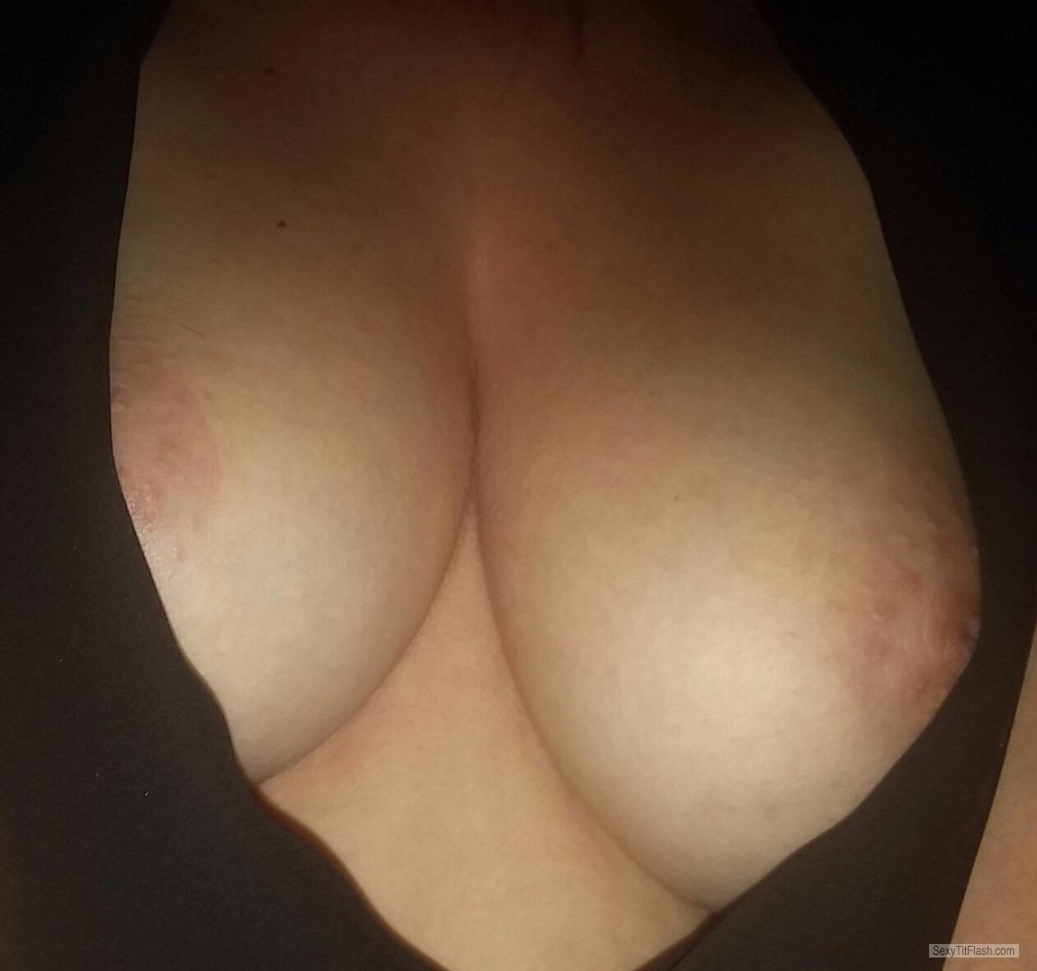 Tit Flash: My Small Tits - Sc from United Kingdom