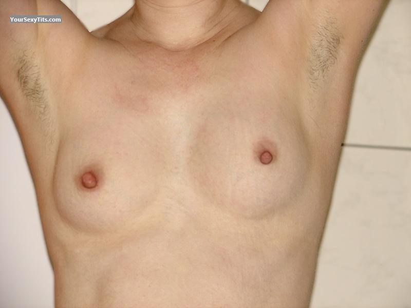 Tit Flash: Small Tits - Gisa from Germany