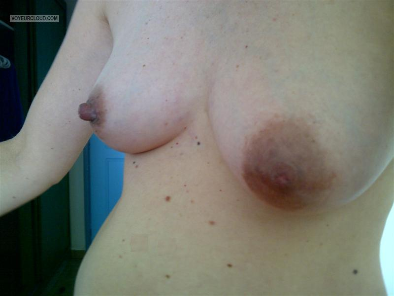 Small Tits Of My Wife Milena