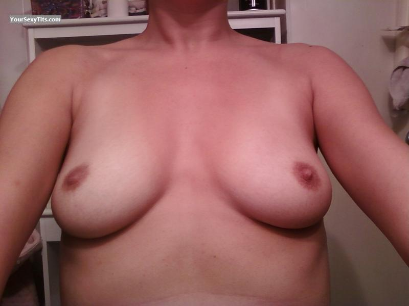 Tit Flash: Small Tits - Just Me from United States