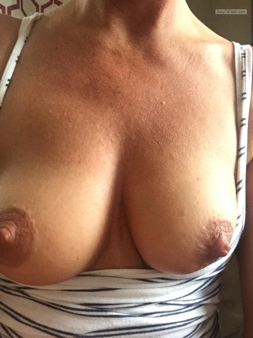 Small Tits Of My Wife Selfie by Golddigga21