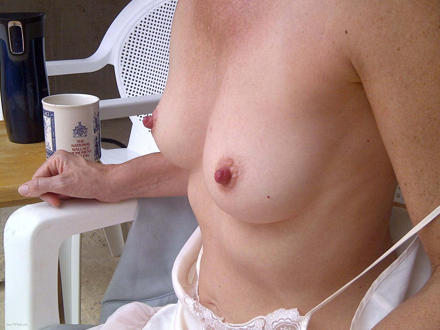 Small Tits Of My Wife Lan