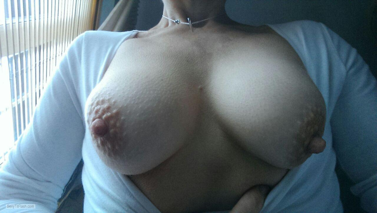 Small Tits Of A Friend Selfie by A Wife
