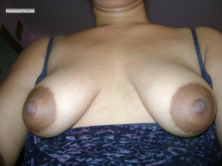 Tit Flash: My Small Tits (Selfie) - JG from Panama
