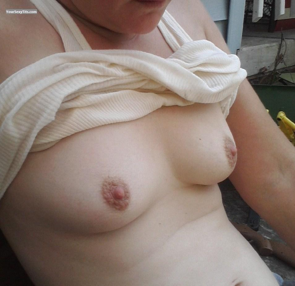 Tit Flash: Small Tits - Momma Of 2 from United States