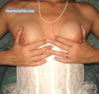 Tit Flash: Small Tits - A Wench from United States