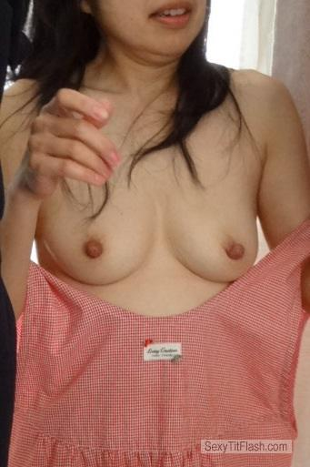 Small Tits Of My Wife Saki