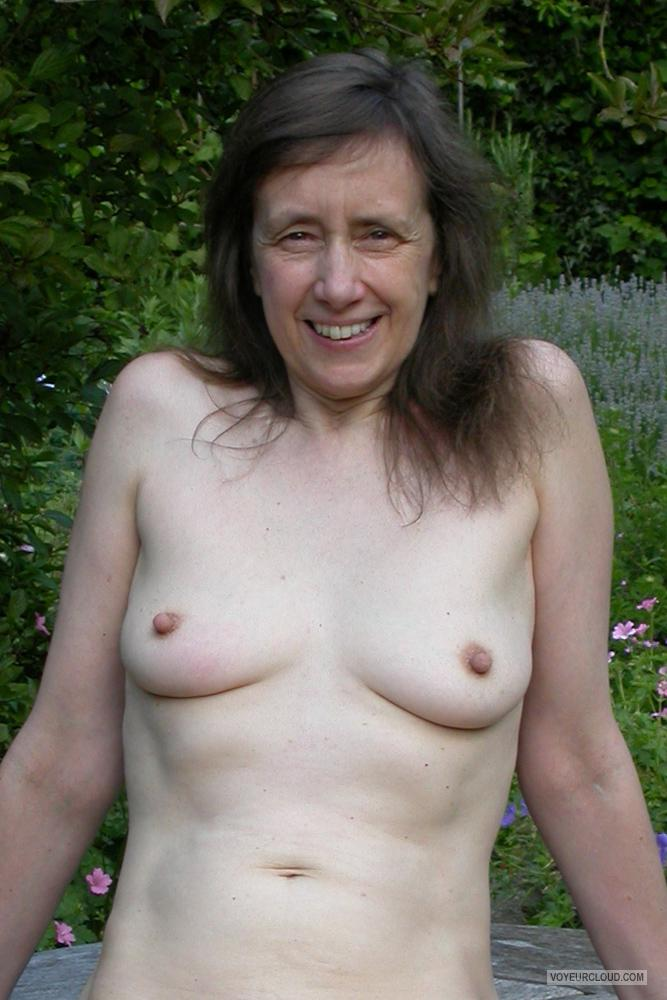 Tit Flash: My Small Tits - Topless LouiseUK from United Kingdom