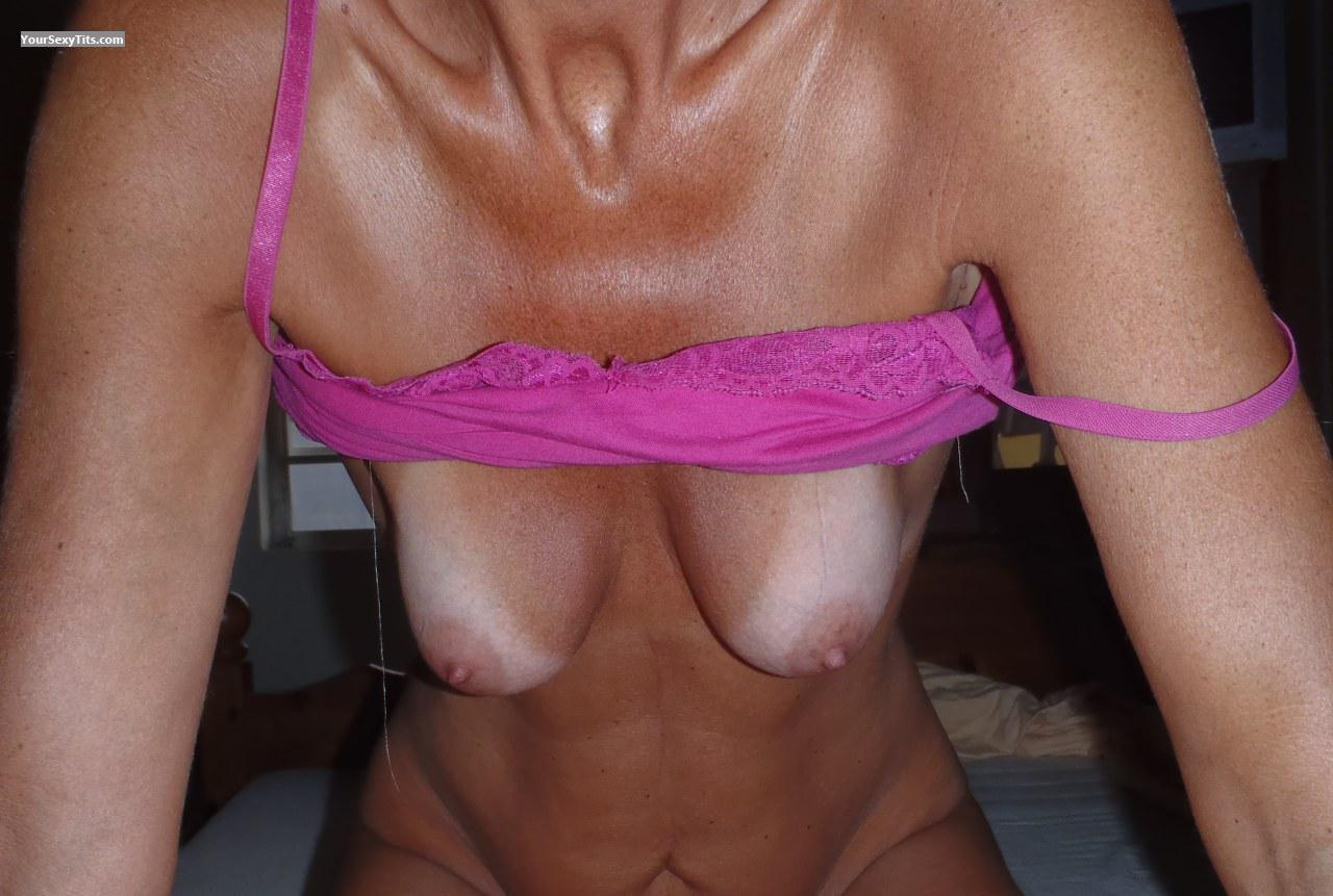 Tit Flash: Wife's Small Tits - Onehappy2010 from Netherlands