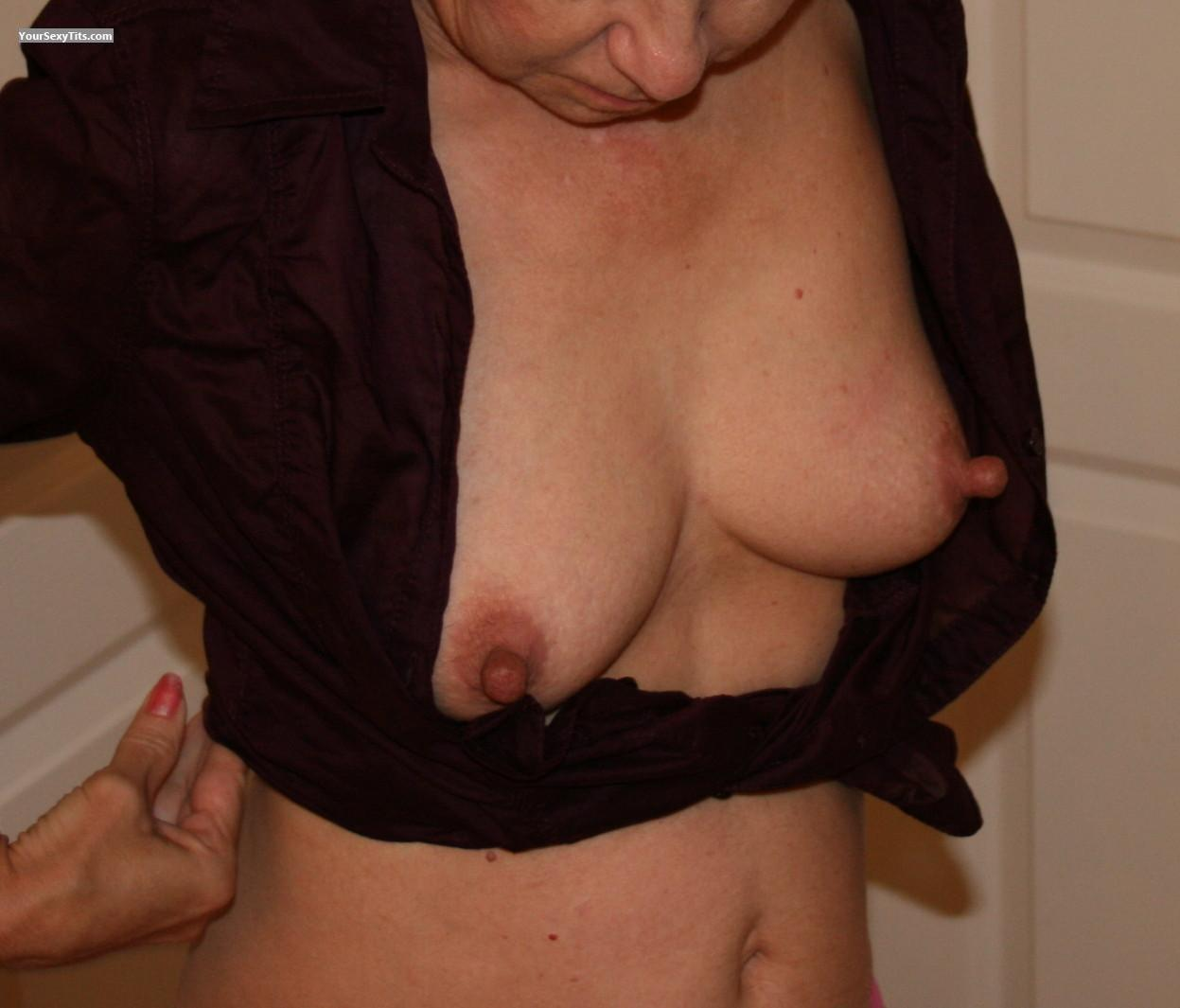Short Haired Milf Small Tits