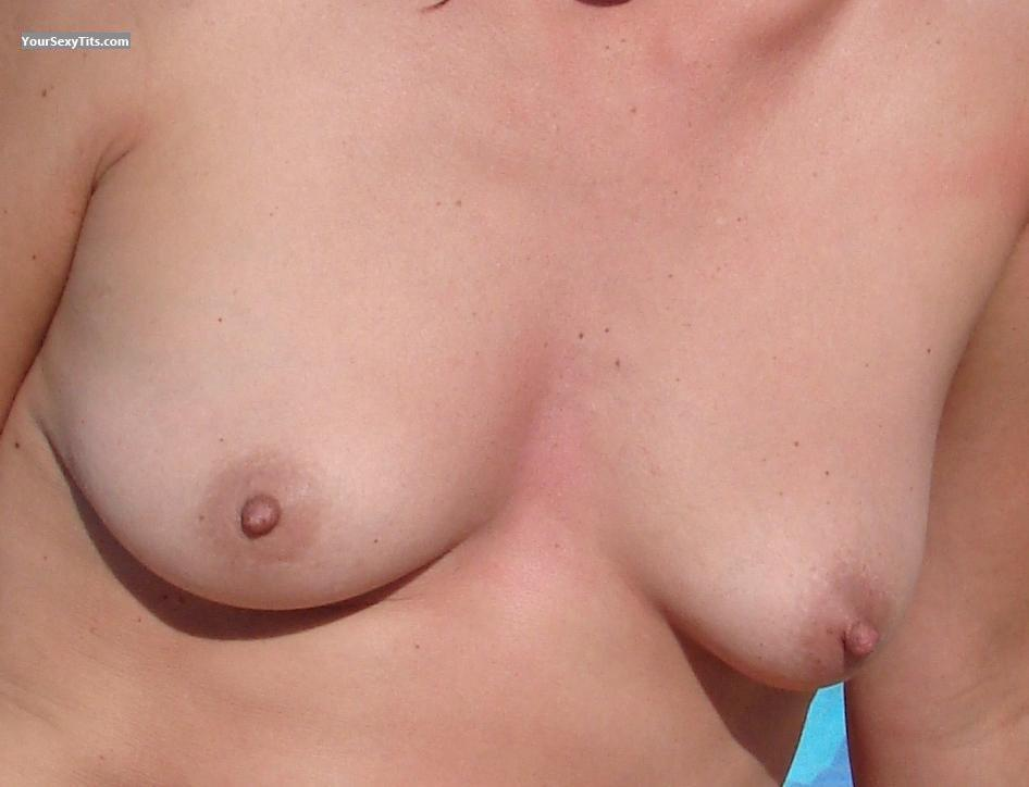 Tit Flash: Small Tits - Abac from Italy