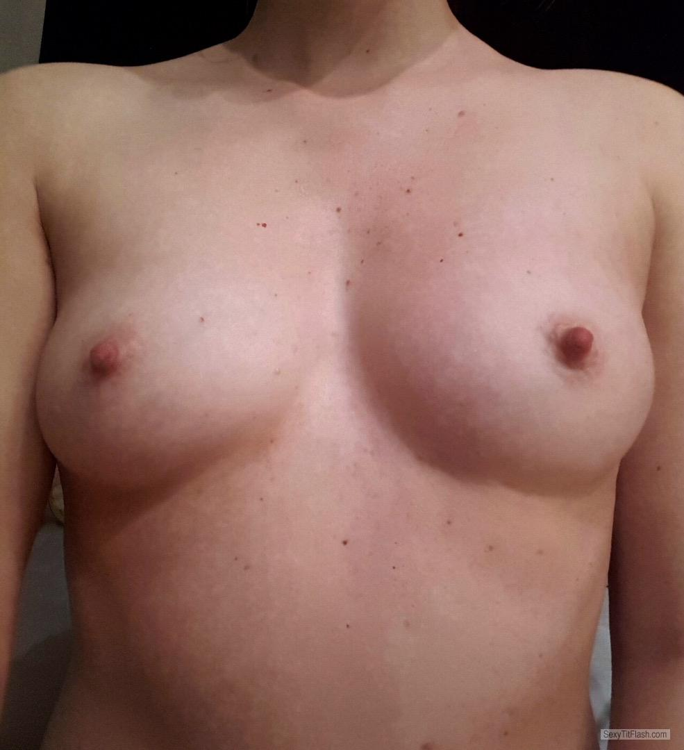 My Small Tits Topless Yvonne