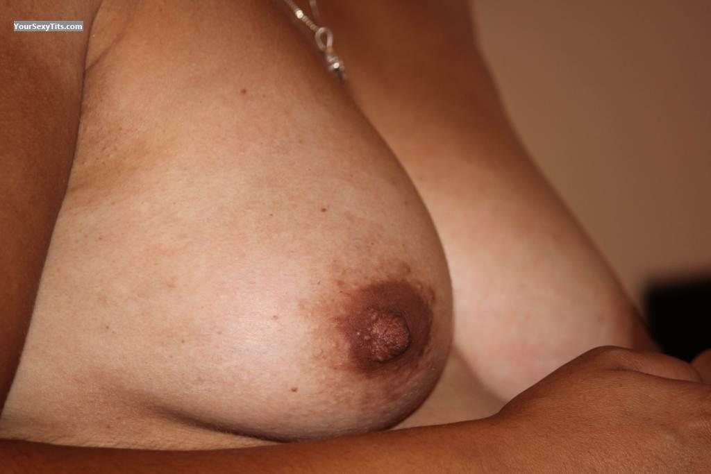 Tit Flash: Wife's Small Tits - Maria from South Africa
