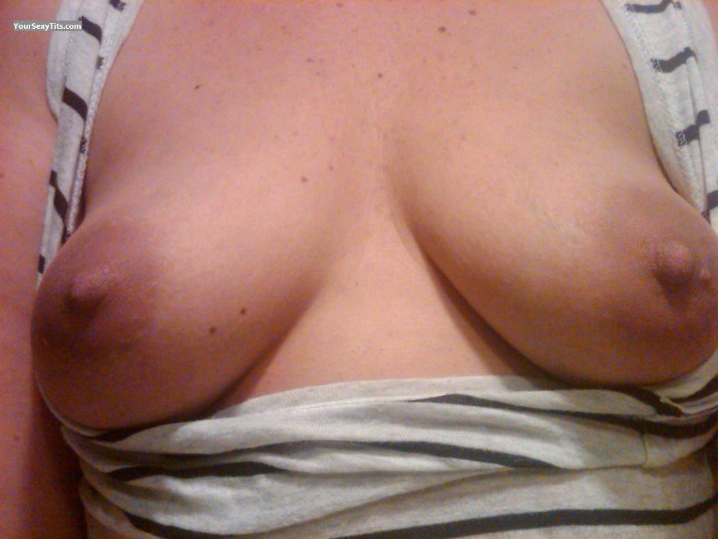 Tit Flash: My Small Tits (Selfie) - Tln from United States