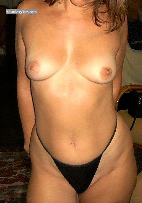 Tit Flash: Small Tits - Mrs_Greekcouple from Greece
